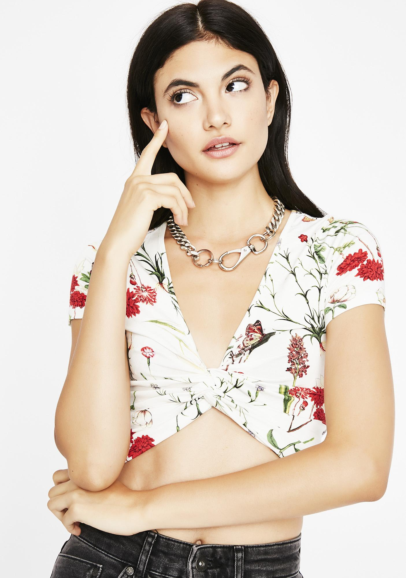 Spring All Day Crop Top