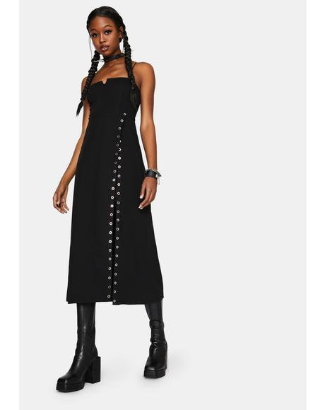 Sexy V-Neck Braces Dress