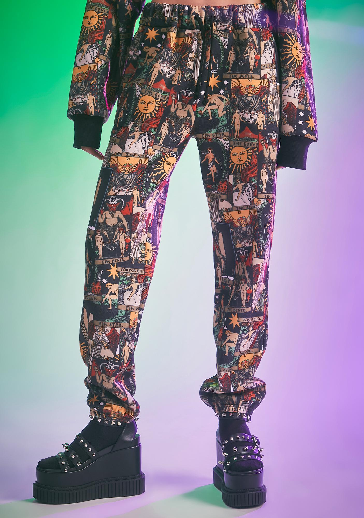 HOROSCOPEZ Paint Us Gold Jogger Sweatpants