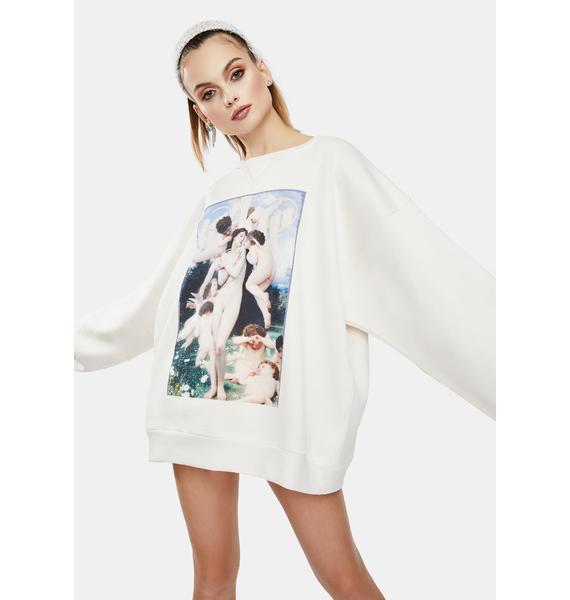 Selkie The Winter Oversized Sweatshirt