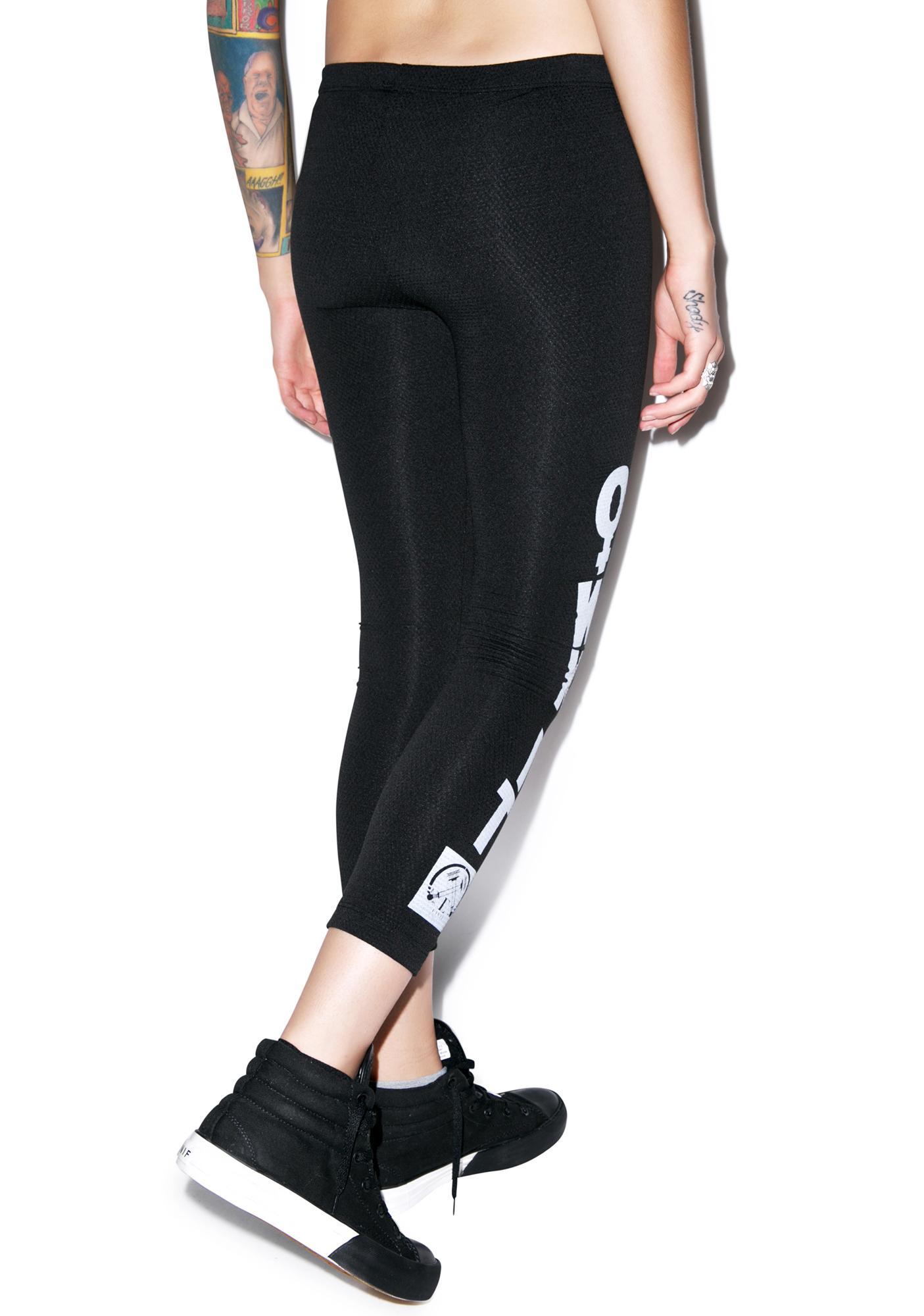 Civil Clothing Own It Mesh Leggings