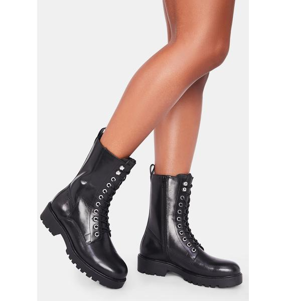 VAGABOND SHOEMAKERS Kenova Fleece Lined Leather Boots