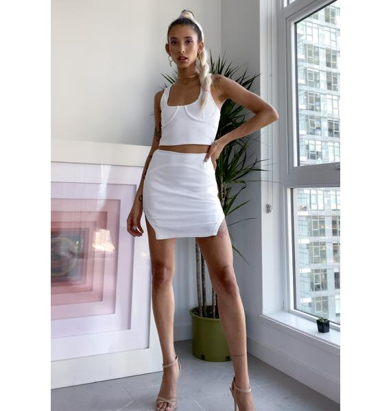 Hottie With A Body Skirt Set