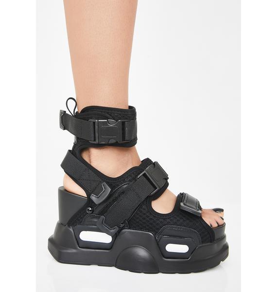 Anthony Wang Daily Hustle Platform Sandals