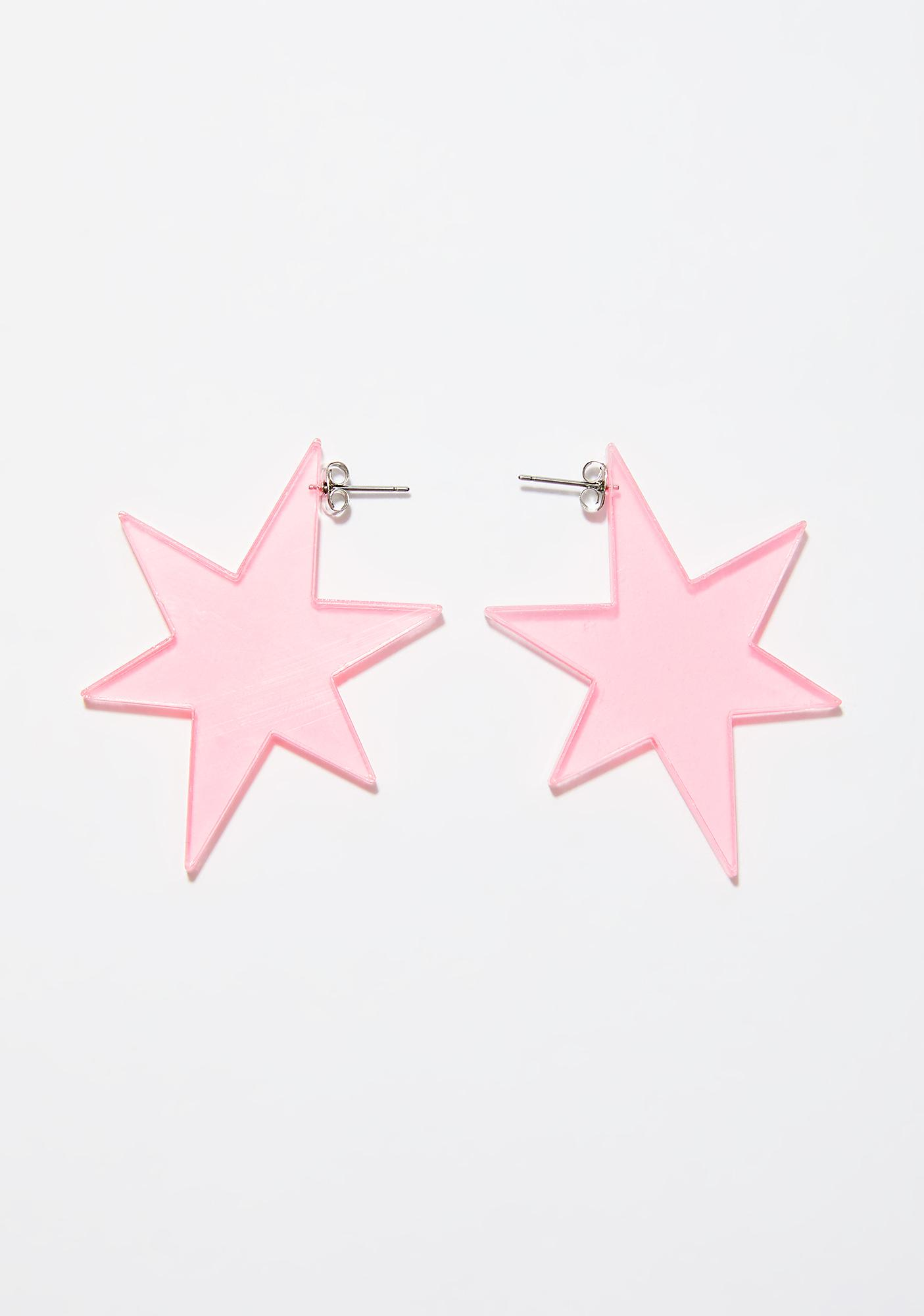 Cosmic Rush Star Earrings
