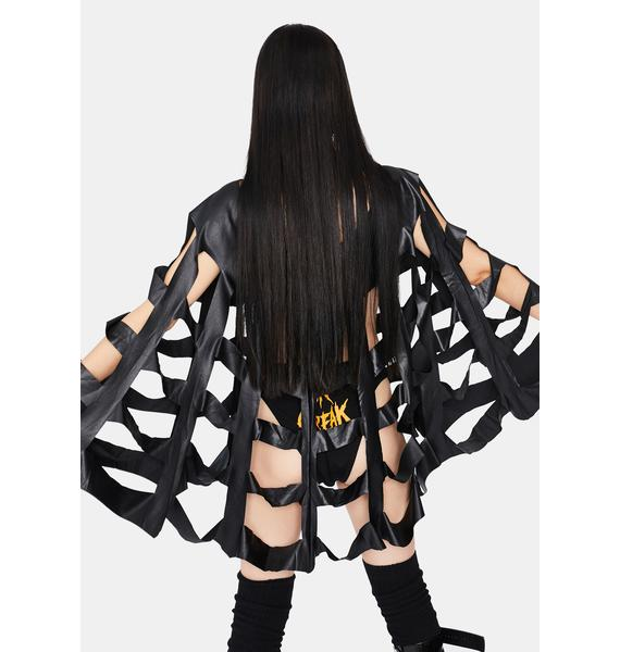 Roma Shadow Banned Web Cape