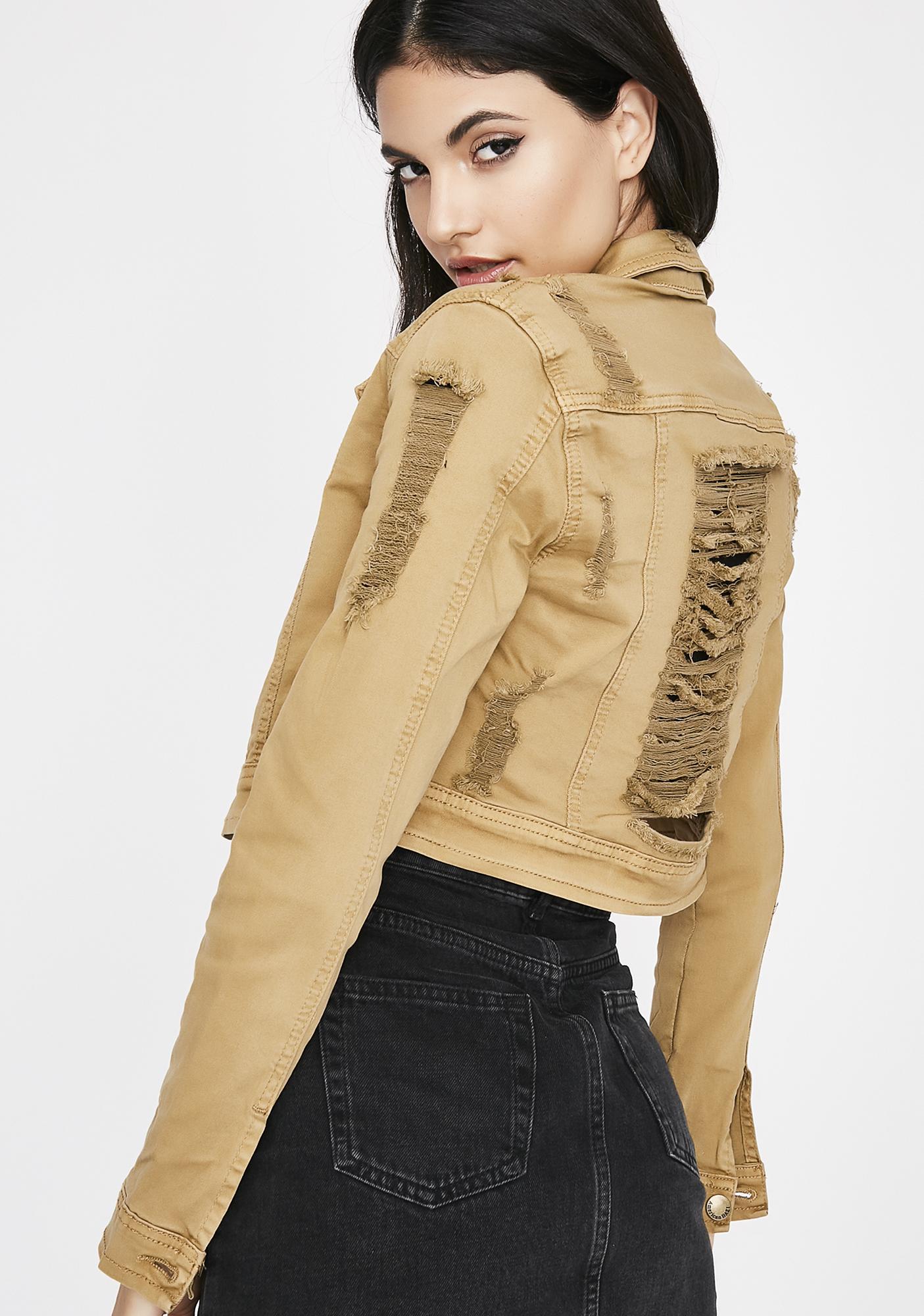 Feelin' Salty Distressed Jacket