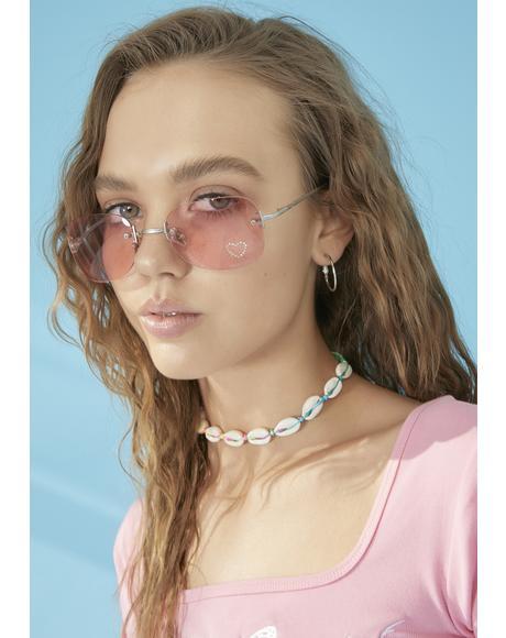 Hottness Oversized Sunglasses