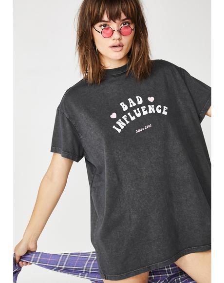 Bad Influence Graphic T-Shirt