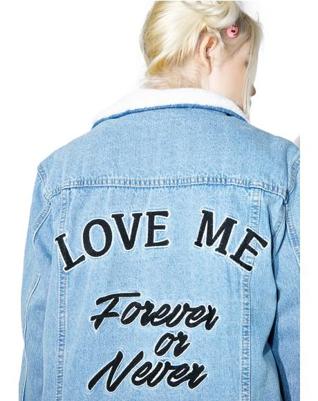 Forever Or Never Denim Jacket