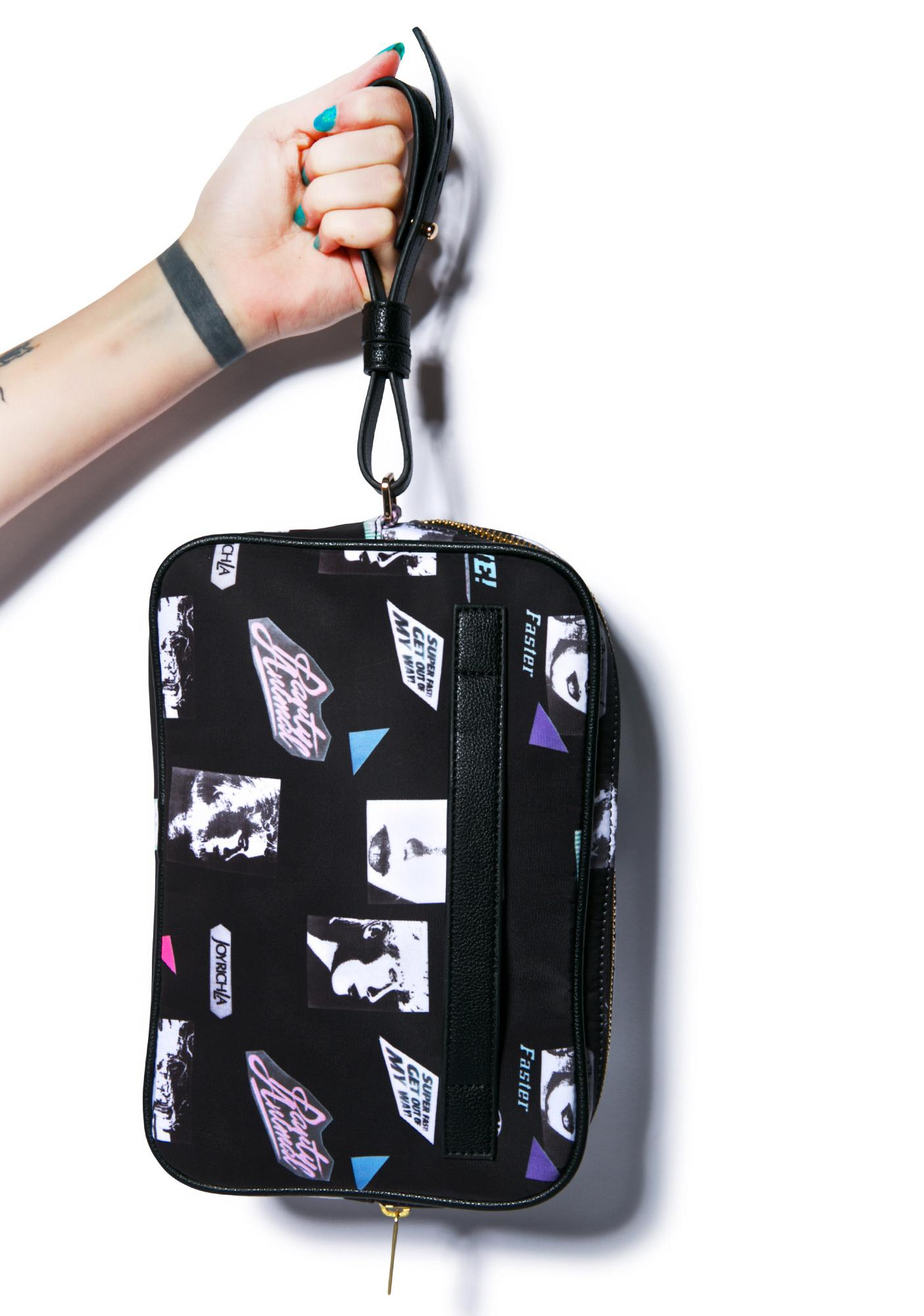 Joyrich Editorial Map Wrist Bag