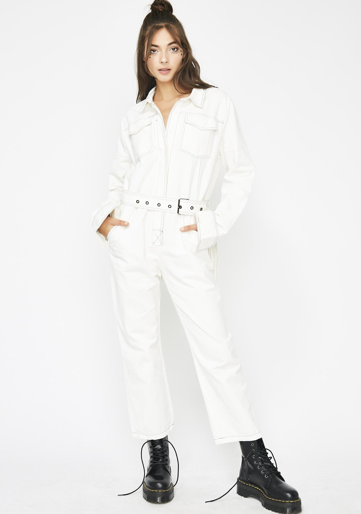 Adventure Time Belted Jumpsuit