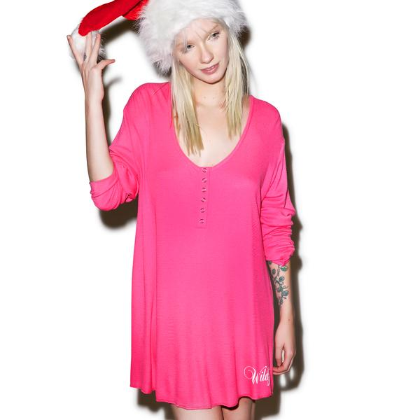 Wildfox Couture Rockin' Around Snowed-In Sleepshirt
