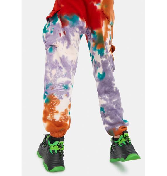 GRIMEY Liveution Magic 4 Resistance Tie Dye Sweatpants
