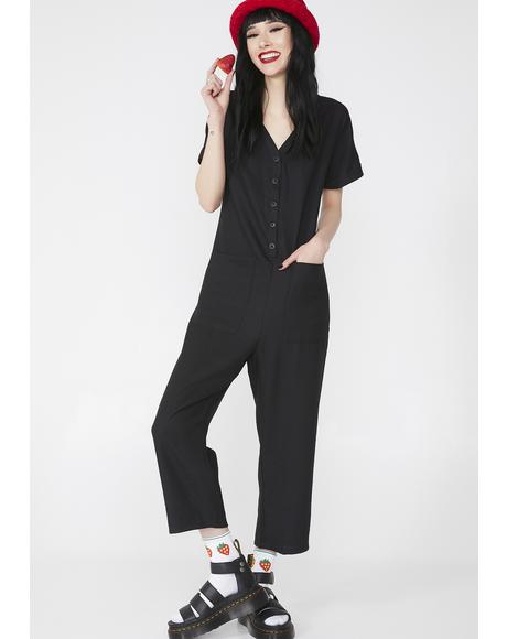 Work It Sis Wide Leg Jumpsuit