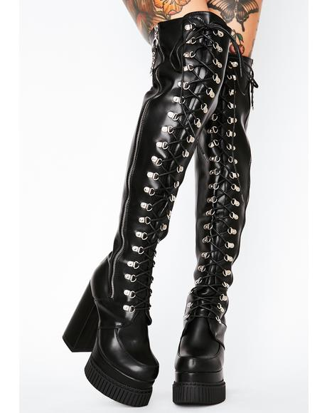 Nice For What Thigh High Boots