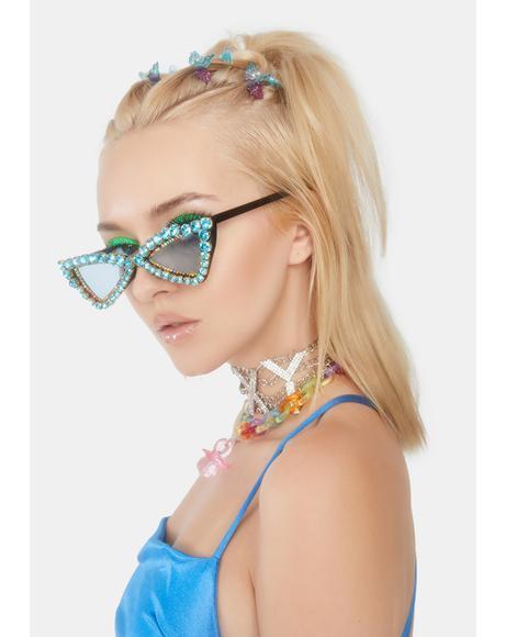 Icy Glitz Bling Sunglasses