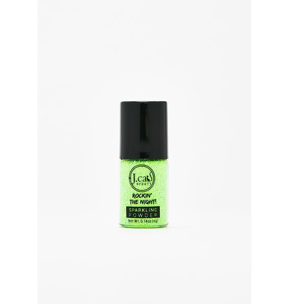 J. Cat Beauty Popping Lime Sparkling Powder