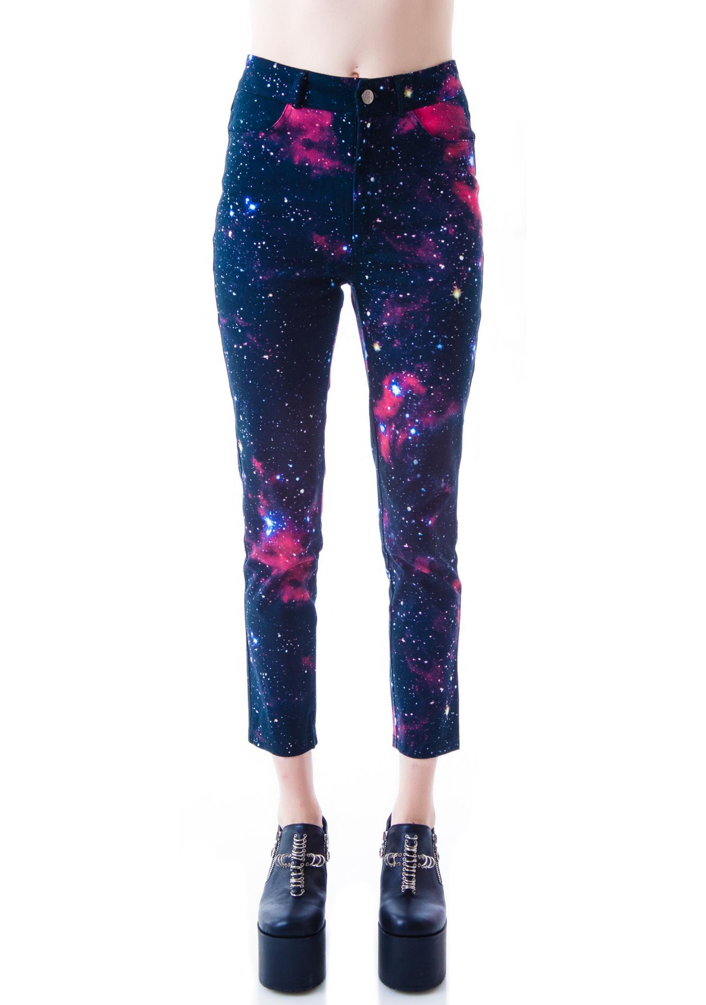 Evil Twin Beam Me Up Highwaisted 7/8 Pant
