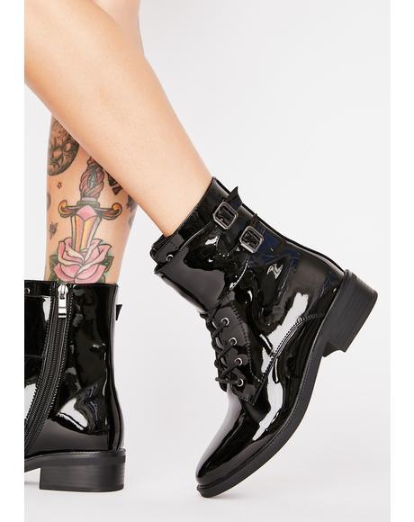 Jiin Combat Boots