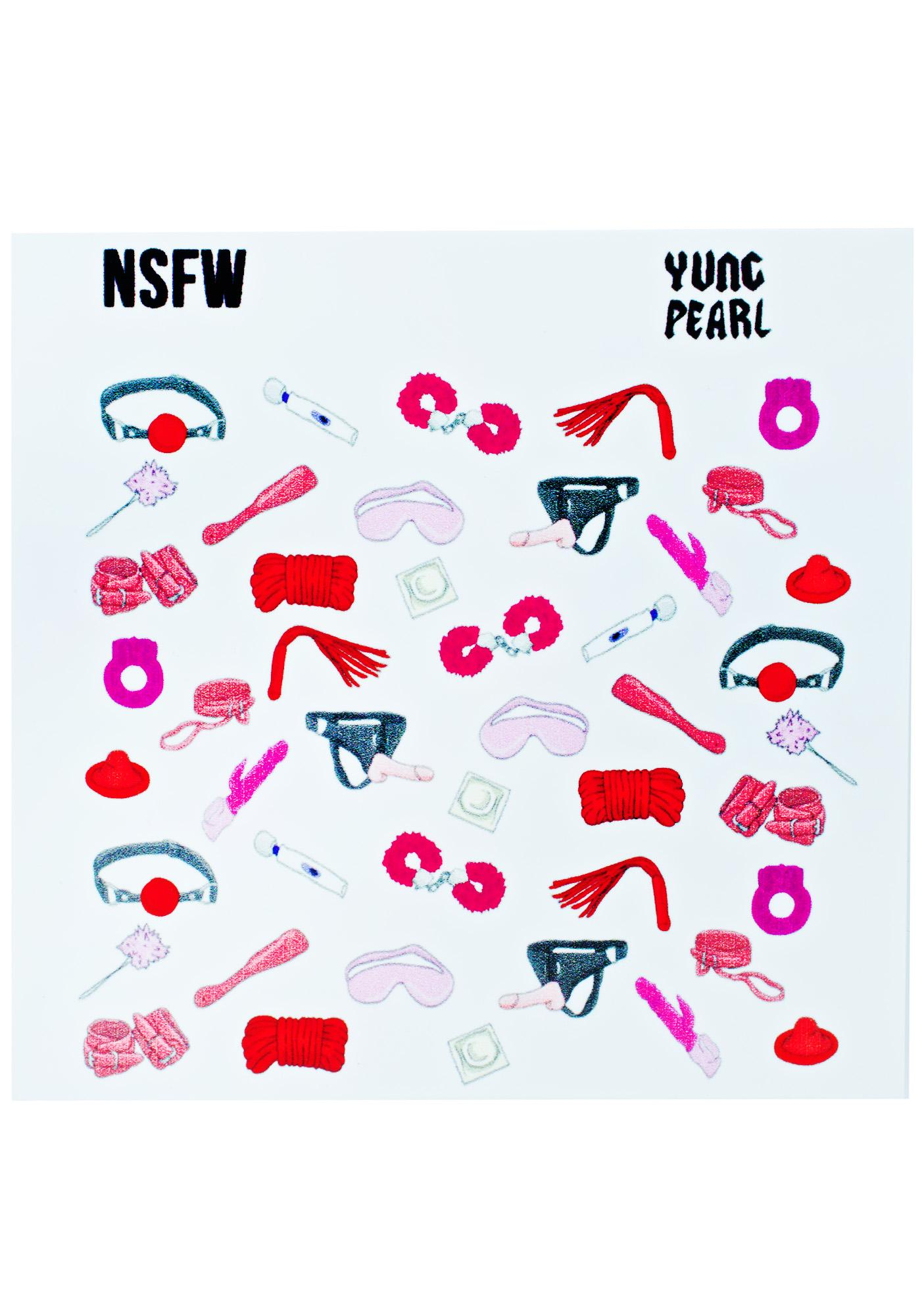 Yvng Pearl NSFW Nail Decals