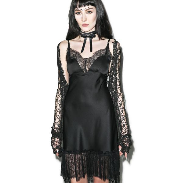 Widow Artemis Lace Slip Dress