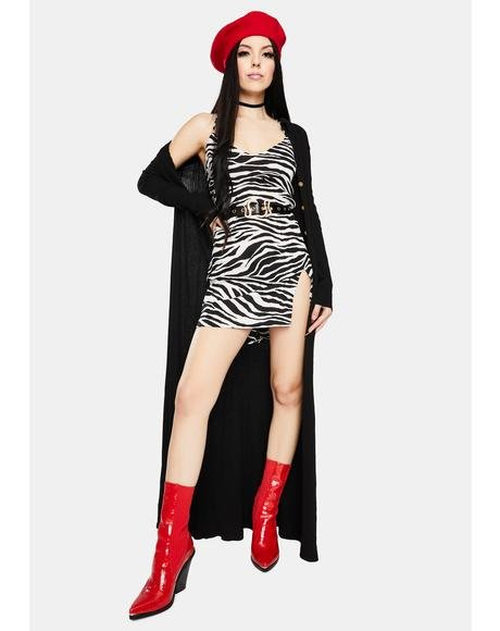 Zebra Katya Mini Dress