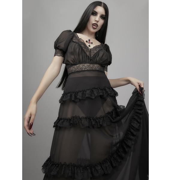 Widow Perpetual Night Maxi Dress