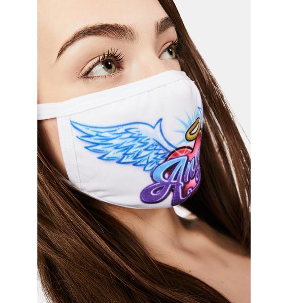 dELiA*s by Dolls Kill Snowed In Angel Face Mask