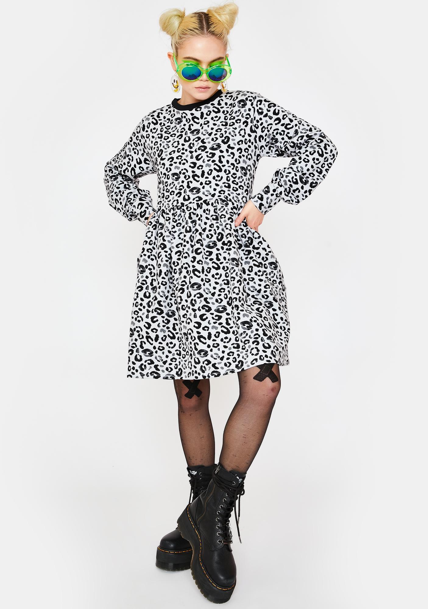 Tallulah's Threads Leopard Sweater Dress