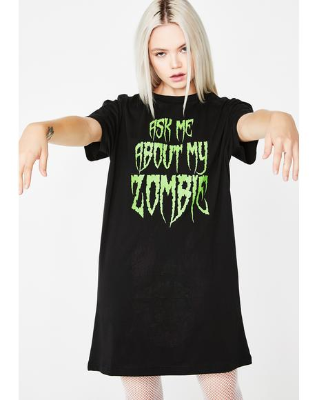 Undercover Zombie Flip Tee