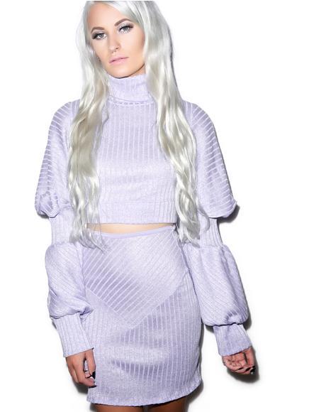 Vogue Intern Barbae Knit Set