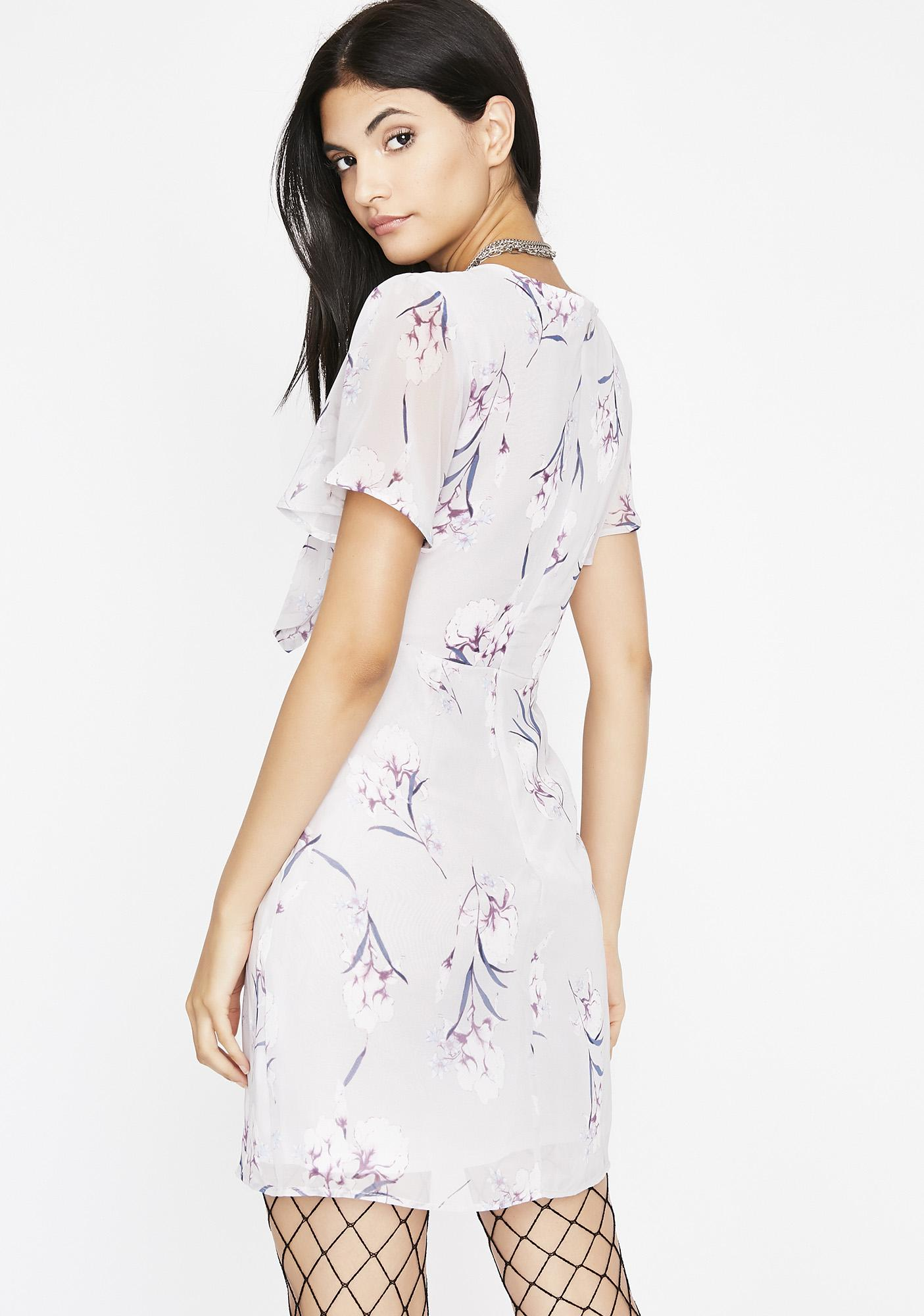Blooming Everywhere Floral Dress