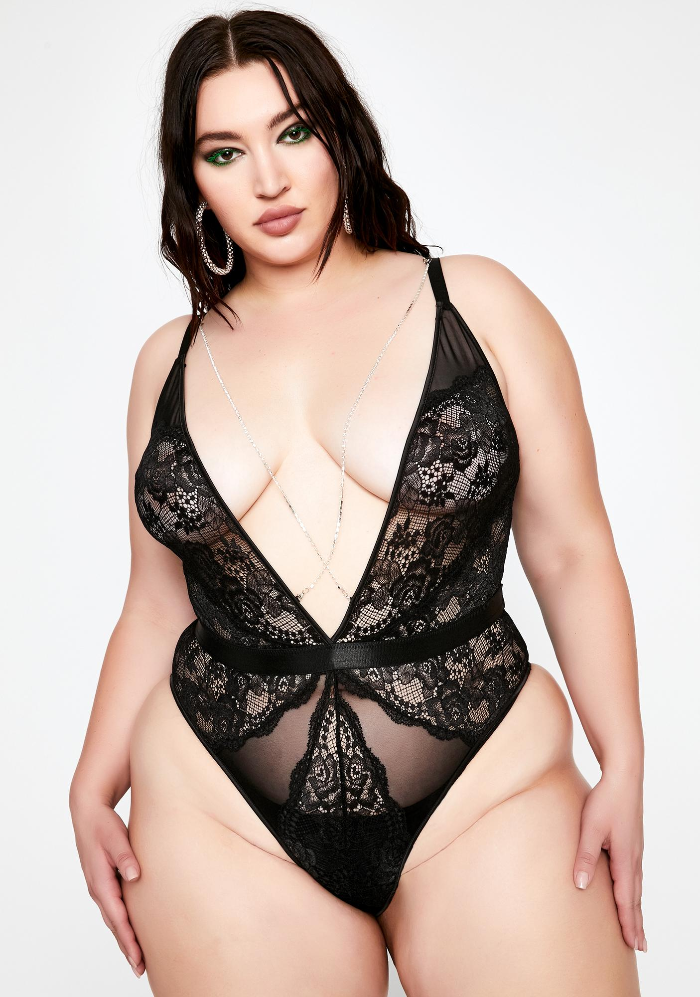 Forever Diamond Desires Lace Teddy