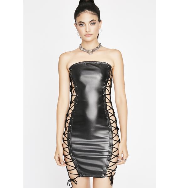 BDSM Baddie Mini Dress
