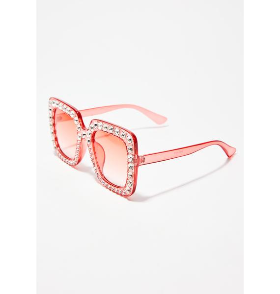 Bubblegum Feelin Flossy Sunglasses