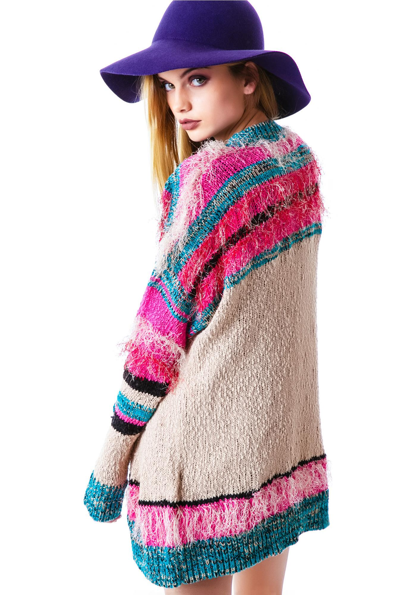 Mink Pink Gypsy Love Cardigan
