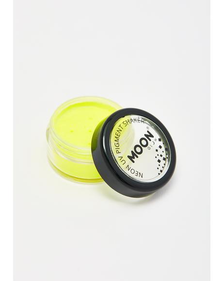 Intense Yellow UV Neon Pigment Shaker