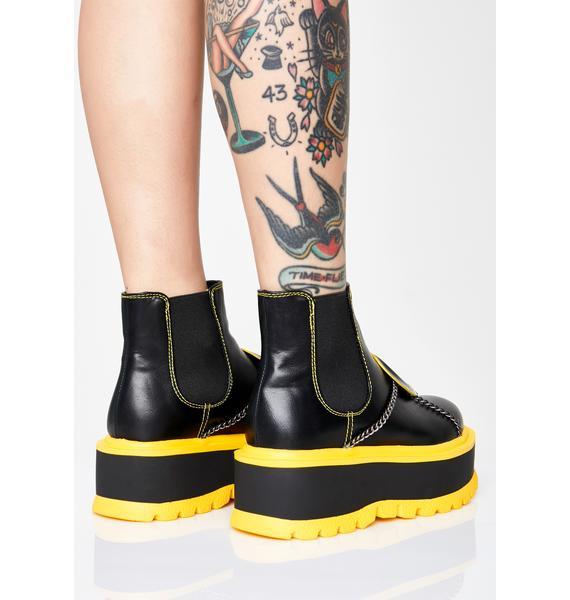 Koi Footwear Area 51 Platform Boots