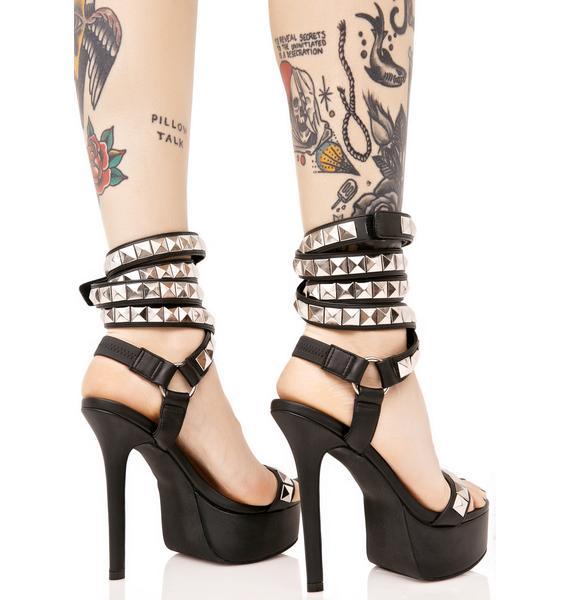 Current Mood Poshpunk Heels