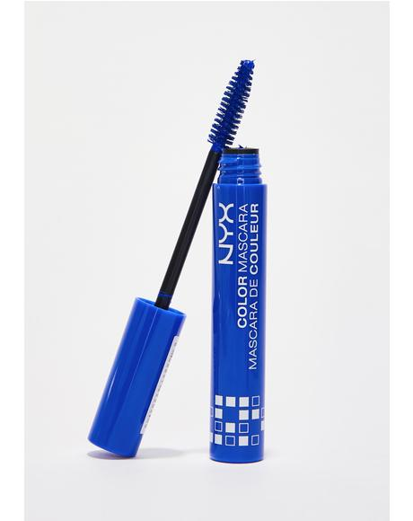 Blue Color Mascara