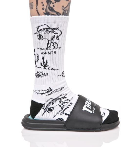 HUF X Thrasher Tour De Stoops Slides