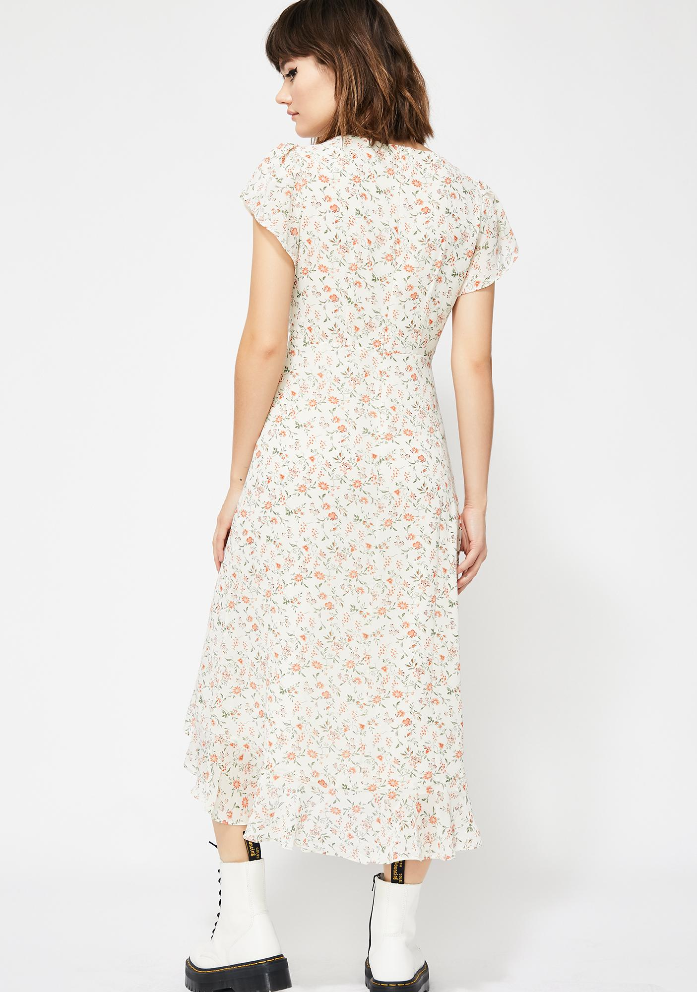 The Frill Of It Floral Dress