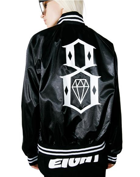 Eight Or Die Baseball Jacket