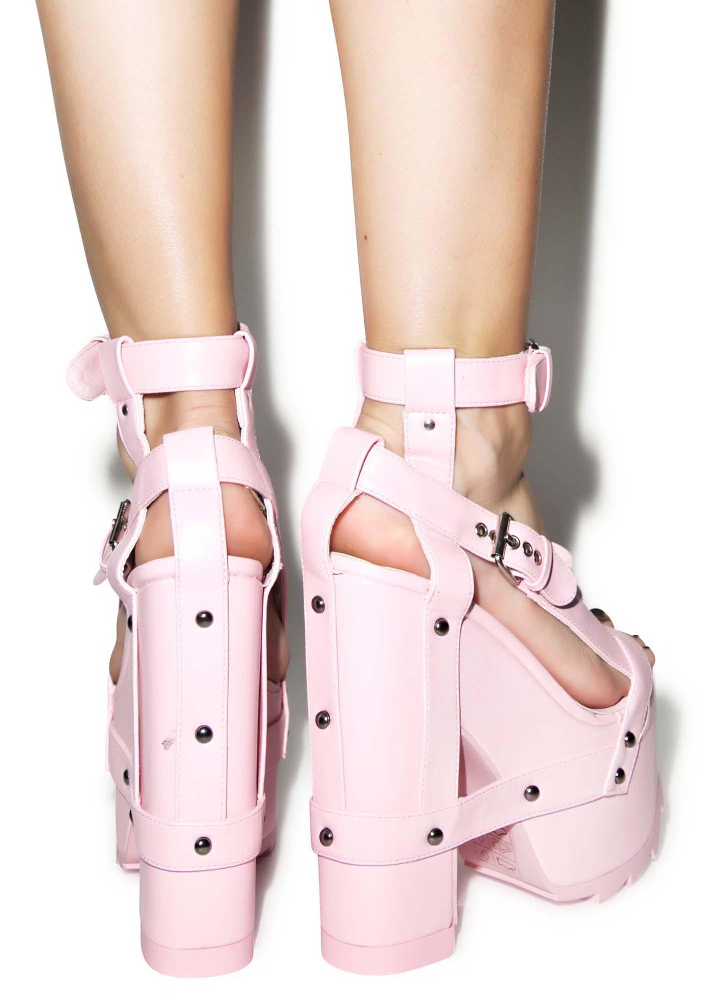 1ddb0601ac7 Pink Nightcall Platform Heels