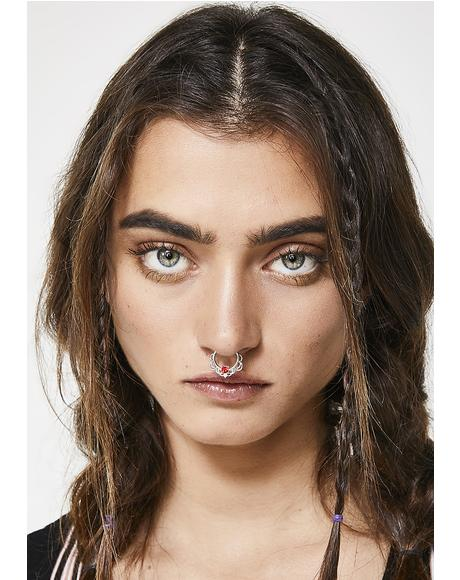 Hidden Spark Septum Ring