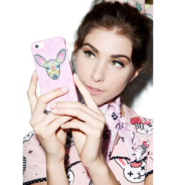 Sourpuss Clothing Deer Woodland iPhone 5 Case