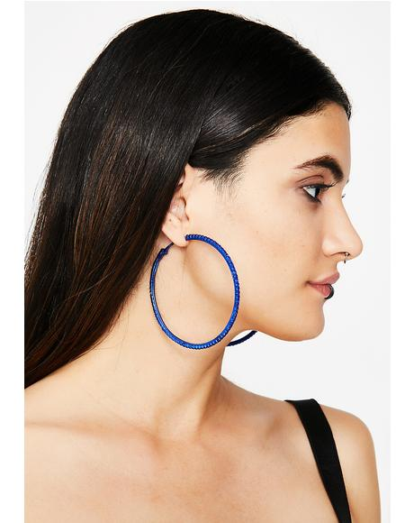 Ice Cold Looks Hoop Earrings