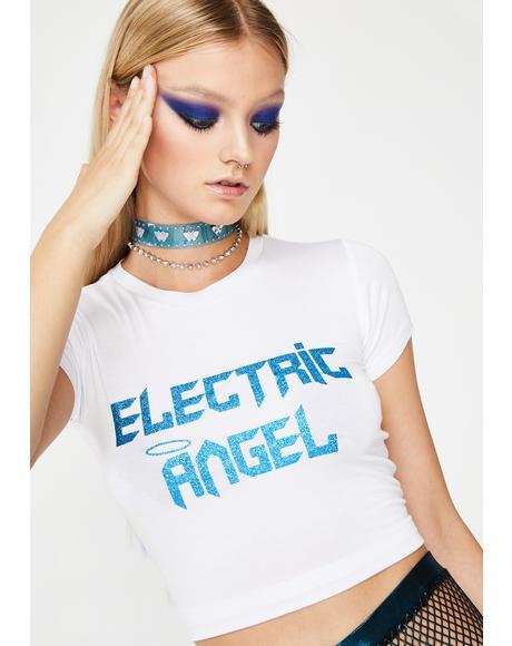 Dancefloor Angel Baby Tee
