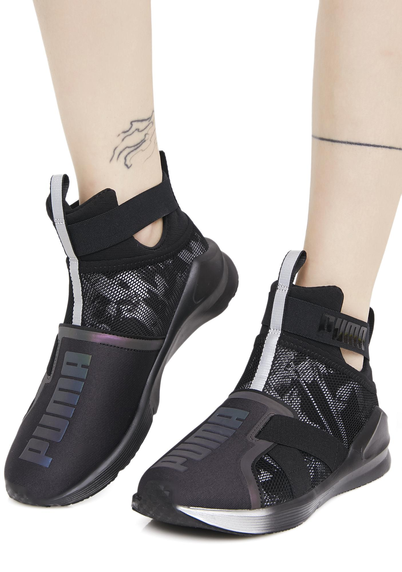 9fbf32bb732a PUMA Fierce Strap Swan Sneaker